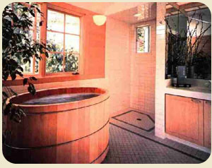 Oval Hot Tub